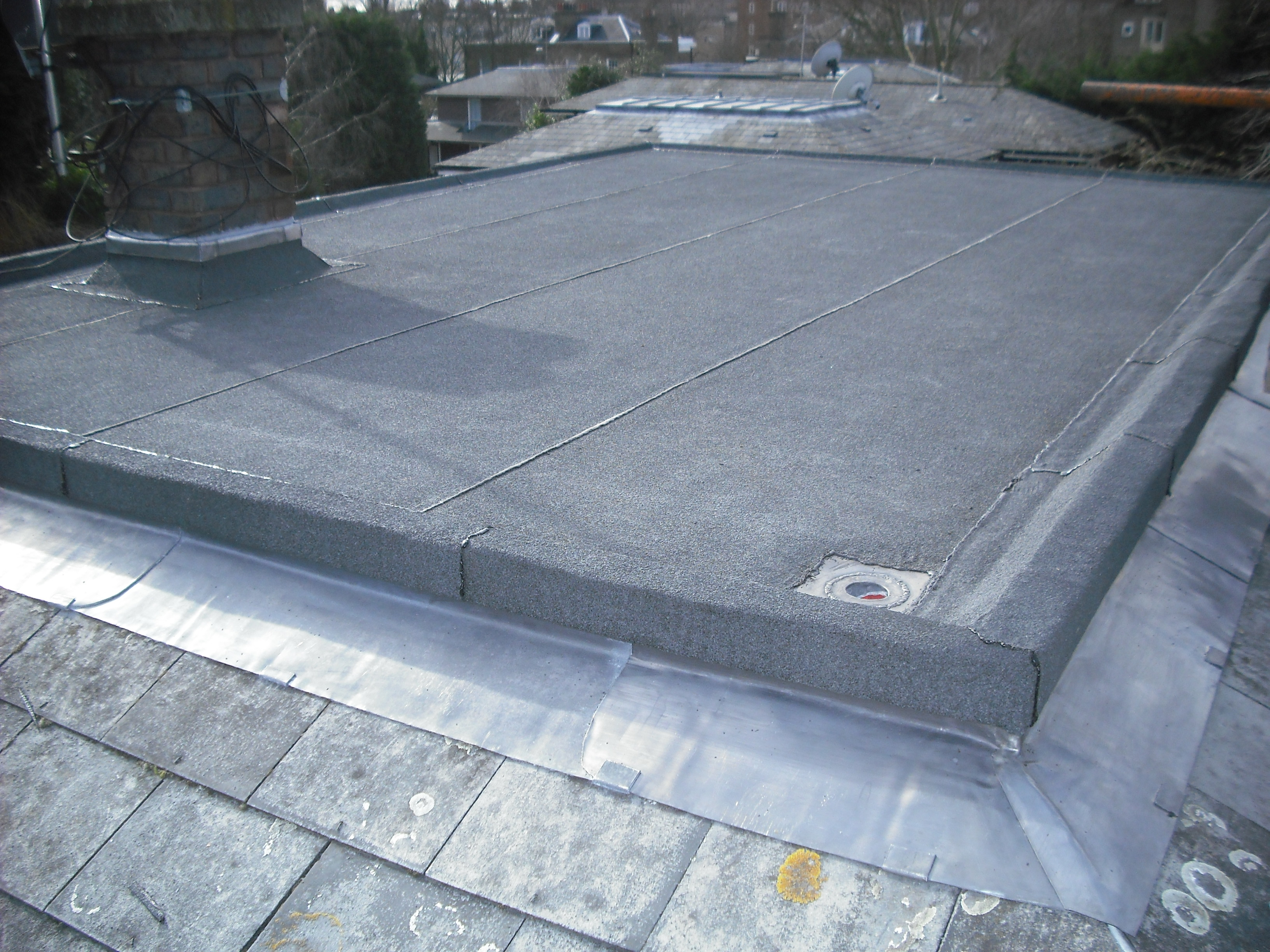 Flat Roofing Contractors Flat Roofers North London